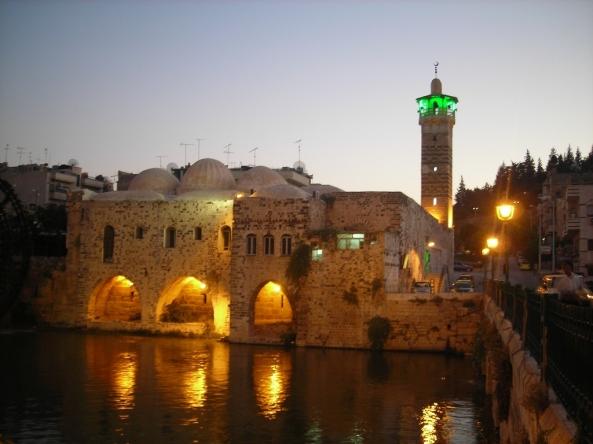 அழகிய பள்ளிவாயல்கள் (MASJID WALLPAPER) - Page 2 Islamic-wallpaper_masjid-wallpaper_mosque-in-hama-syria