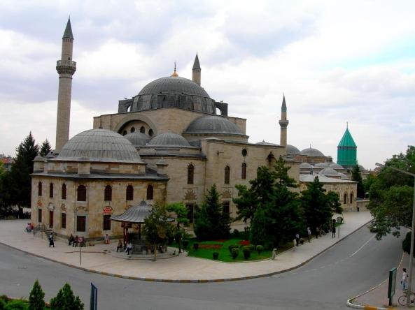 அழகிய பள்ளிவாயல்கள் (MASJID WALLPAPER) - Page 2 Islamic-wallpaper_masjid-wallpaper_mosques-in-konya-turkey