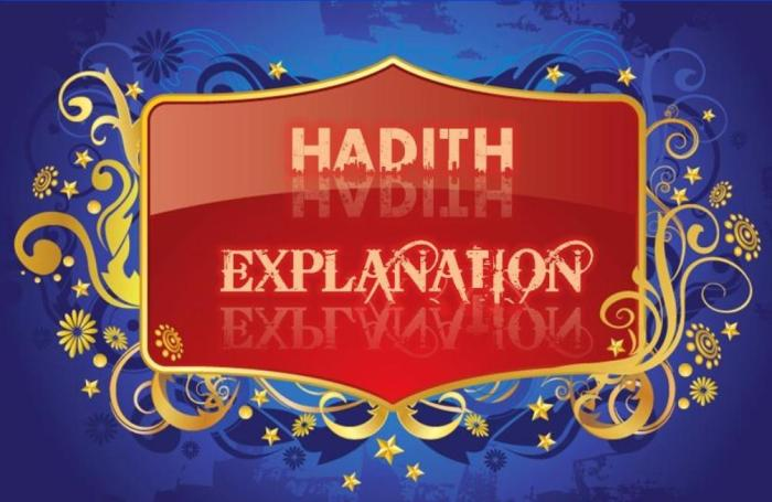 HADITH EXPLANATION